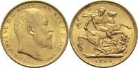 1 Pfund 1906 M Australien Edward VII. ss-vz  345,00 EUR