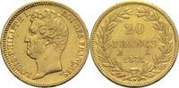 20 Francs 1831 A Frankreich Louis Philippe I. ss  275,00 EUR