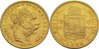 8 Forint 1888 Ungarn Franz Joseph I. ss-vz  280,00 EUR  +  14,90 EUR shipping