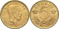 5 Kronen 1920 Schweden Gustav V. vz+  150,00 EUR  zzgl. 6,90 EUR Versand