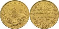 100 Piaster 1906 Türkei / Osmanisches Reich Abdul Hamid II. vz  290,00 EUR  +  14,90 EUR shipping