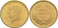 25 Piaster 1969 Türkei 2. Republik St-  90,00 EUR  zzgl. 6,90 EUR Versand