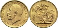 1 Pfund 1914 S Australien Georg V. ss+  295,00 EUR  zzgl. 6,90 EUR Versand