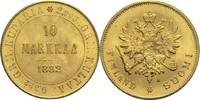 10 Markkaa 1882 Finnland Alexander III. vz-St  390,00 EUR  zzgl. 6,90 EUR Versand