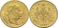 8 Florin 1888 Österreich Franz Joseph I. ss+  260,00 EUR  +  14,90 EUR shipping