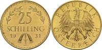 25 Schilling 1931 Österreich I. Republik St-  300,00 EUR  zzgl. 6,90 EUR Versand