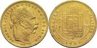 8 Forint 1885 Ungarn Franz Joseph I. ss+  240,00 EUR  zzgl. 6,90 EUR Versand