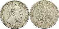 2 Mark 1876 A Anhalt, Herzogtum Friedrich I. 1871-1904 Kl. Kr., ss  240,00 EUR  +  14,90 EUR shipping