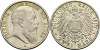 2 Mark 1907 G Baden, Großherzogtum Friedrich I. 1856-1907 ss+  60,00 EUR  zzgl. 6,90 EUR Versand