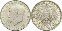 2 Mark 1914 D Bayern, Königreich Ludwig III. 1913-1918 vz-St  110,00 EUR  +  14,90 EUR shipping
