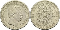 2 Mark 1877 H Hessen (-Darmstadt), Großherzogtum Ludwig III. 1848-1877 ... 250,00 EUR  +  14,90 EUR shipping