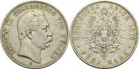 5 Mark 1876 H Hessen (-Darmstadt), Großherzogtum Ludwig III. 1848-1877 ... 80,00 EUR  +  14,90 EUR shipping