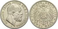 2 Mark 1891 A Oldenburg, Großherzogtum Nicolaus Friedrich Peter 1853-19... 280,00 EUR  zzgl. 6,90 EUR Versand