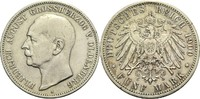 5 Mark 1900 A Oldenburg, Großherzogtum Friedrich August 1900-1918 Kl. R... 540,00 EUR  zzgl. 6,90 EUR Versand