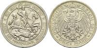 3 Mark 1915 A Preussen, Königreich Wilhelm II. 1888-1918 Min. Rf., vz-St  780,00 EUR  zzgl. 14,90 EUR Versand