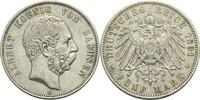5 Mark 1891 E Sachsen Albert 1873-1902 kl. Rf., ss  70,00 EUR  zzgl. 6,90 EUR Versand