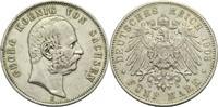 5 Mark 1903 E Sachsen Georg 1902-1904 min. Rf., ss  55,00 EUR  zzgl. 6,90 EUR Versand