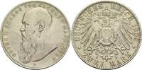 2 Mark 1902 D Sachsen-Meiningen Georg II. 1866-1914 ss+  325,00 EUR  zzgl. 6,90 EUR Versand