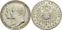 5 Mark 1903 A Sachsen-Weimar-Eisenach Wilhelm Ernst 1901-1918 Rf., aufp... 180,00 EUR  zzgl. 6,90 EUR Versand