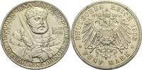 5 Mark 1908 A Sachsen-Weimar-Eisenach Wilhelm Ernst 1901-1918 min. Rf.,... 230,00 EUR  zzgl. 6,90 EUR Versand