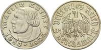 5 Mark 1933 A Drittes Reich 'Martin Luther' min. Rf., min. fleckig, vz ... 130,00 EUR  +  14,90 EUR shipping