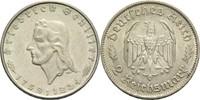 """2 Mark 1934 F Drittes Reich """"Friedrich Schiller"""" ss-vz  55,00 EUR  +  14,90 EUR shipping"""