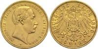 10 Mark 1890 A Mecklenburg-Schwerin, Großherzogtum Friedrich Franz III.... 1100,00 EUR  +  19,80 EUR shipping