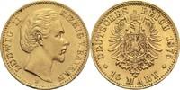 10 Mark 1875 D Bayern, Königreich Ludwig II. 1864-1886 Min. Rf. u. Kr.,... 390,00 EUR  +  14,90 EUR shipping