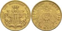 20 Mark 1899 J Hamburg Freie Hansestadt ss+  315,00 EUR  +  14,90 EUR shipping