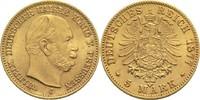 5 Mark 1877 C Preussen, Königreich Wilhelm I. 1861-1888 vz-St  480,00 EUR  zzgl. 6,90 EUR Versand