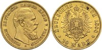 10 Mark 1888 A Preussen, Königreich Friedrich III. 1888 ss+  200,00 EUR  zzgl. 6,90 EUR Versand