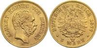 5 Mark 1877 E Sachsen, Königreich Albert 1873-1902 vz+  720,00 EUR  zzgl. 14,90 EUR Versand
