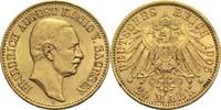 20 Mark 1905 E Sachsen, Königreich Friedrich August III. 1904-1918 ss+  490,00 EUR  zzgl. 6,90 EUR Versand