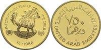750 Dirhams 1980 Vereinigte Arabische Emirate  PP  640,00 EUR  zzgl. 14,90 EUR Versand