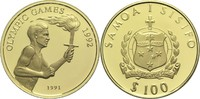 100 Tala 1991 West Samoa  St  295,00 EUR  zzgl. 6,90 EUR Versand