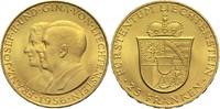 25 Franken 1956 Liechtenstein Franz Joseph II. vz-St  300,00 EUR  +  14,90 EUR shipping