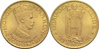 20 Kronen 1910 Norwegen Haakon VII. vz  1195,00 EUR  zzgl. 14,90 EUR Versand
