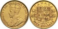 5 Dollars 1913 Kanada Georg V. ss  520,00 EUR  +  14,90 EUR shipping