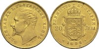 20 Lewa 1894 KB Bulgarien Ferdinand ss+  650,00 EUR  zzgl. 14,90 EUR Versand