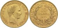 10 Drachmen 1876 A Griechenland Georg I. ss+  1600,00 EUR  +  19,80 EUR shipping