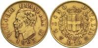 10 Lire 1863 Italien / Sardinien Viktor Emanuel II. ss  160,00 EUR  +  14,90 EUR shipping
