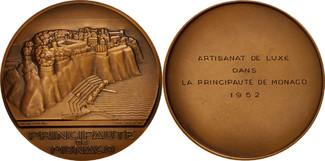 Medal 1952 Frankreich  MS(60-62)