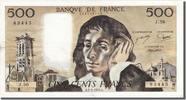 500 Francs 1976 France  EF(40-45)  70,00 EUR  excl. 10,00 EUR verzending