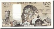 Banque De France  500 Francs 1991 MS+ French Banknoten Frankreich 500 F... 90,00 EUR