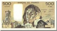 500 Francs 1989 France  AU(55-58)  11216 руб 150,00 EUR  +  748 руб shipping