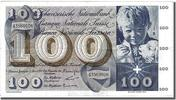 Switzerland 100 Francs 1964 ss+ Foreign Banknoten Switzerland, 100 Franc... 60,00 EUR