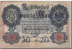 Germany 20 Mark 1914 ss+ Foreign Banknoten Germany, 20 Mark type 1914, D... 60,00 EUR