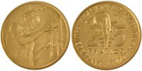 25 Francs 1980 (a) West African States  MS(65-70)  75,00 EUR