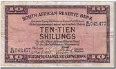 South Africa 10 Shilings 1943 ss Foreign Banknoten South Africa, 10 Shil... 420,00 EUR