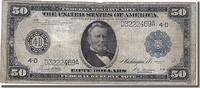 United States 50 Dollars 1914 s Foreign Banknoten United States, 50 Doll... 600,00 EUR